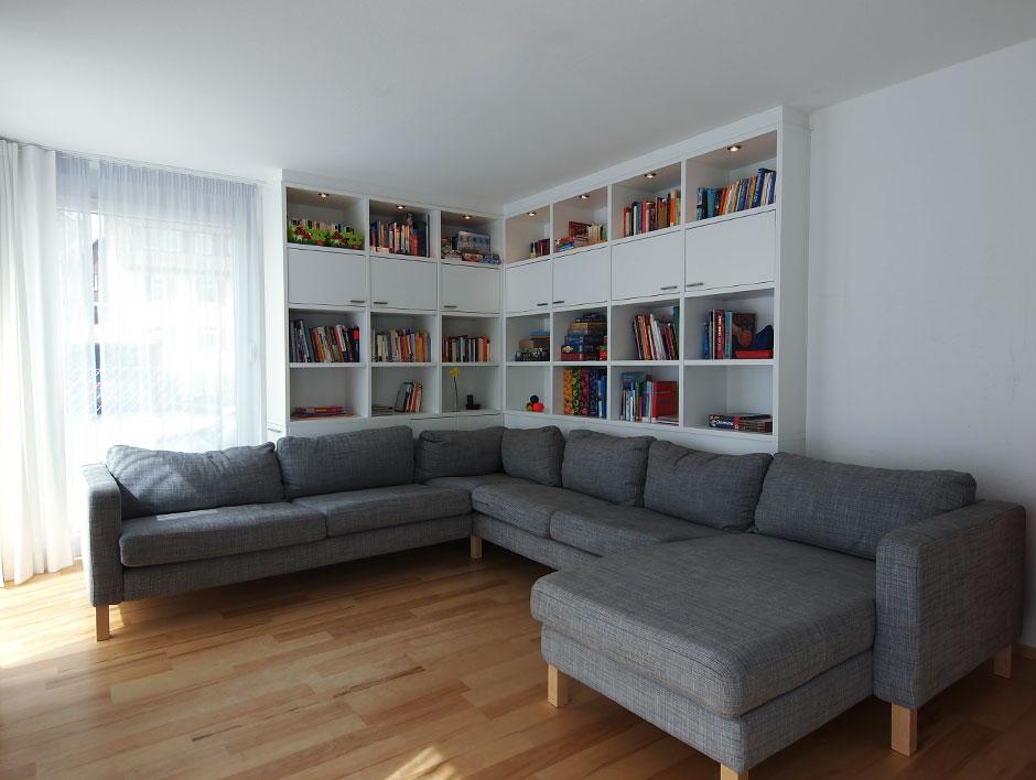 wohnwand als raumteiler die neuesten innenarchitekturideen. Black Bedroom Furniture Sets. Home Design Ideas