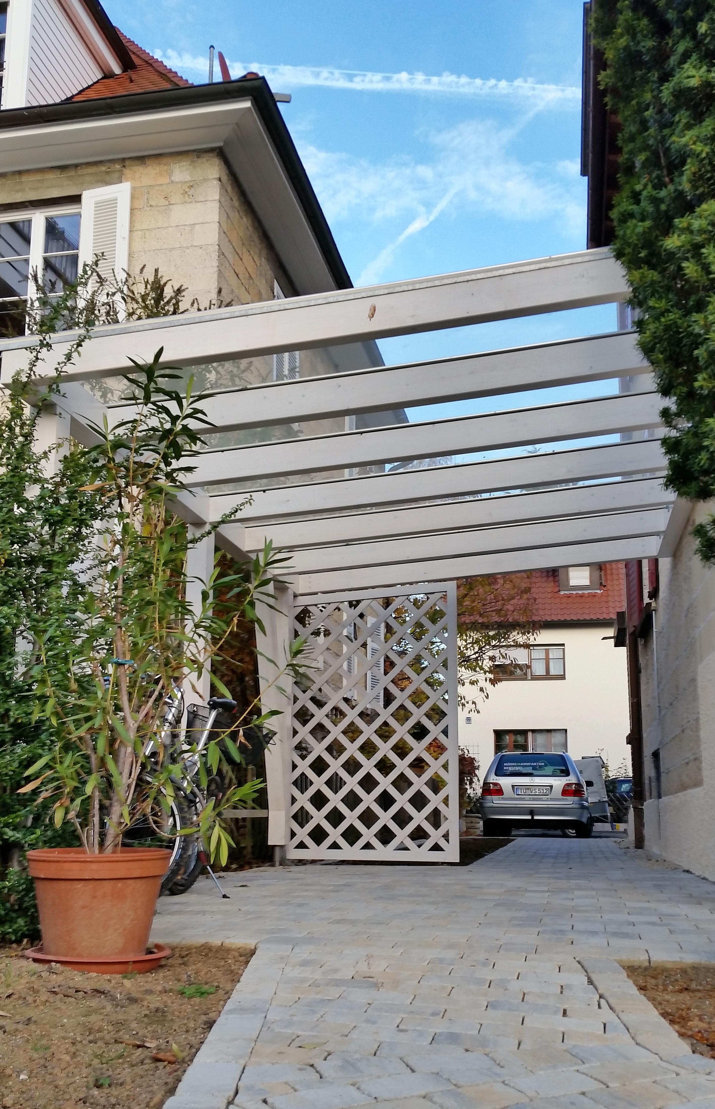 Fahrrad Garage Carport Glasdach