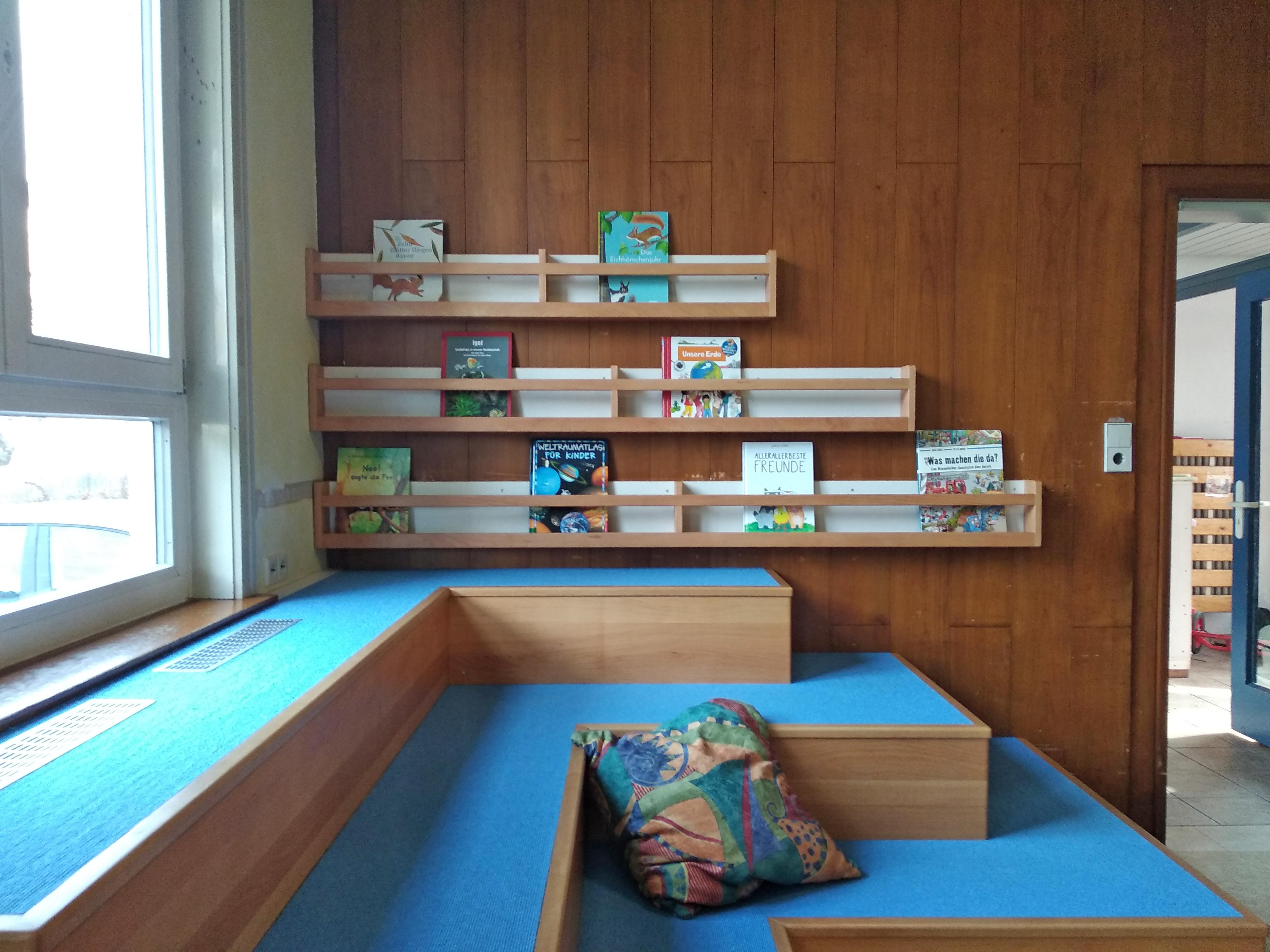 Leselandschaft Kindergarten